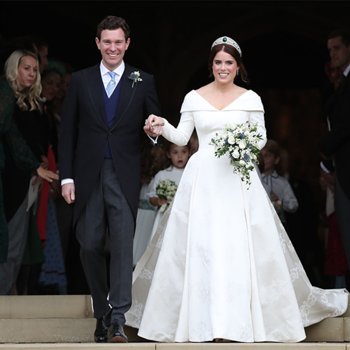 Princess Eugenie\'s Wedding Gown Looks a Lot Like These Celebrity ...