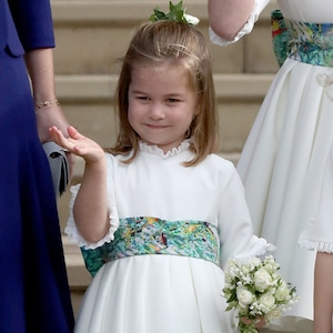 Princess Charlotte, Princess Eugenie Royal Wedding