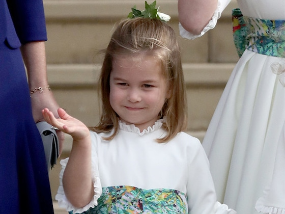 Princess Eugenie and Princess Charlotte Share the Sweetest Moment in New Royal Wedding Photo