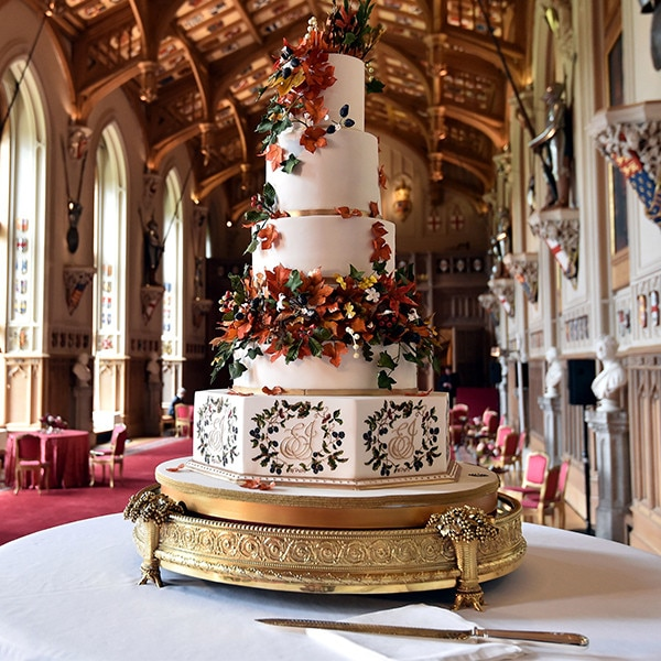 Cake, Princess Eugenie Royal Wedding