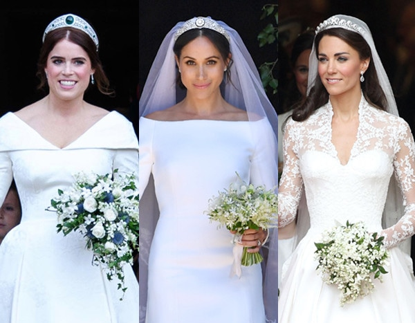 Kate Middletons Wedding Dresses.How The Cost Of Princess Eugenie S Wedding Compares To