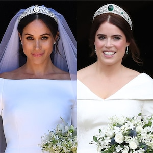 Princess Eugenie, Meghan Markle, Wedding Dresses