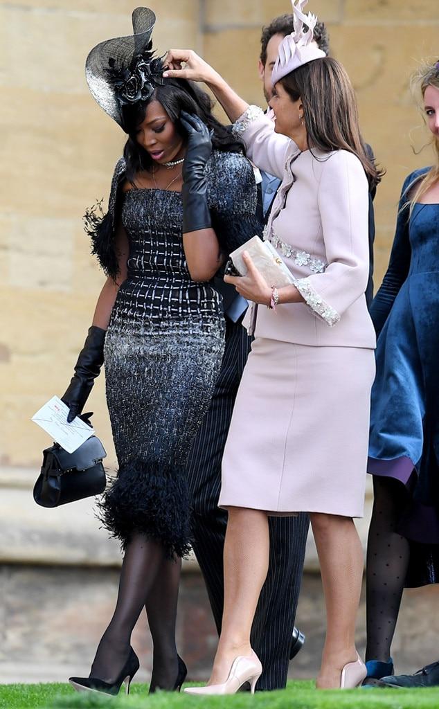 Naomi Campbell, Princess Eugenie Royal Wedding