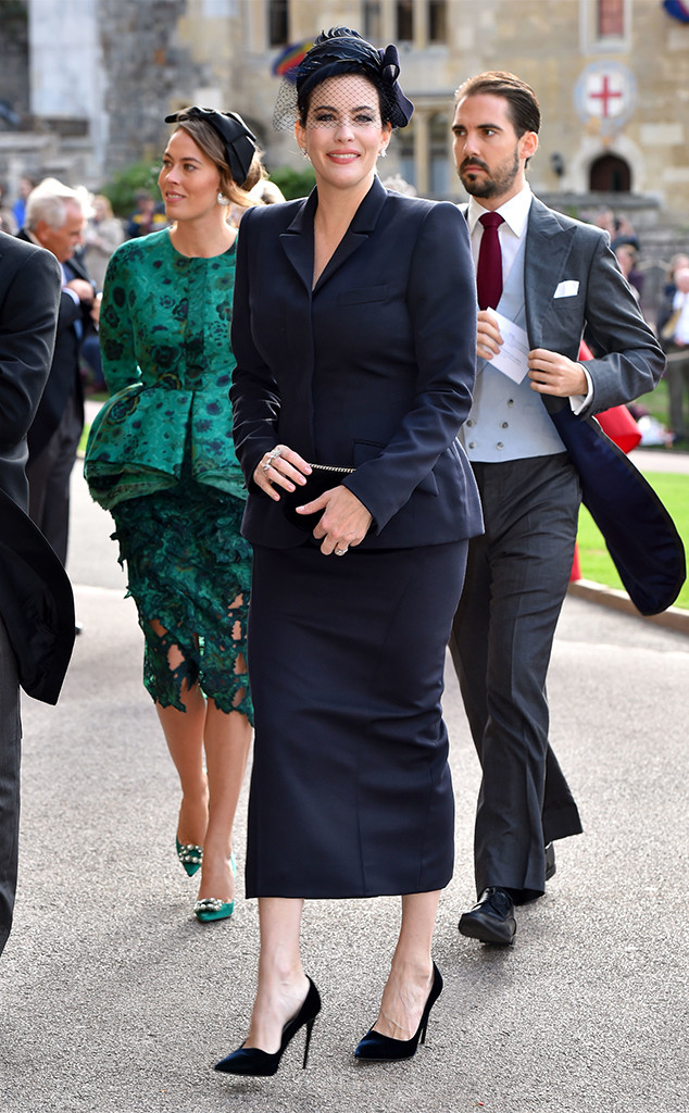 Liv Tyler, Princess Eugenie Royal Wedding