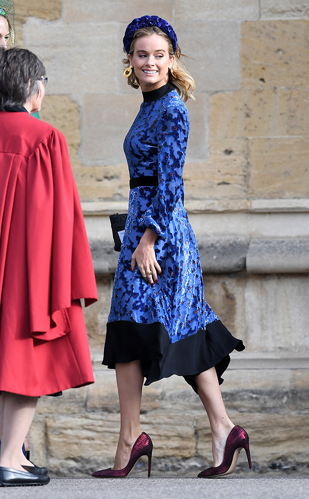 Cressida Bonas, Princess Eugenie Royal Wedding