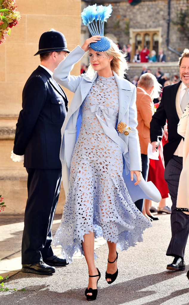 Poppy Delevingne, Princess Eugenie Royal Wedding