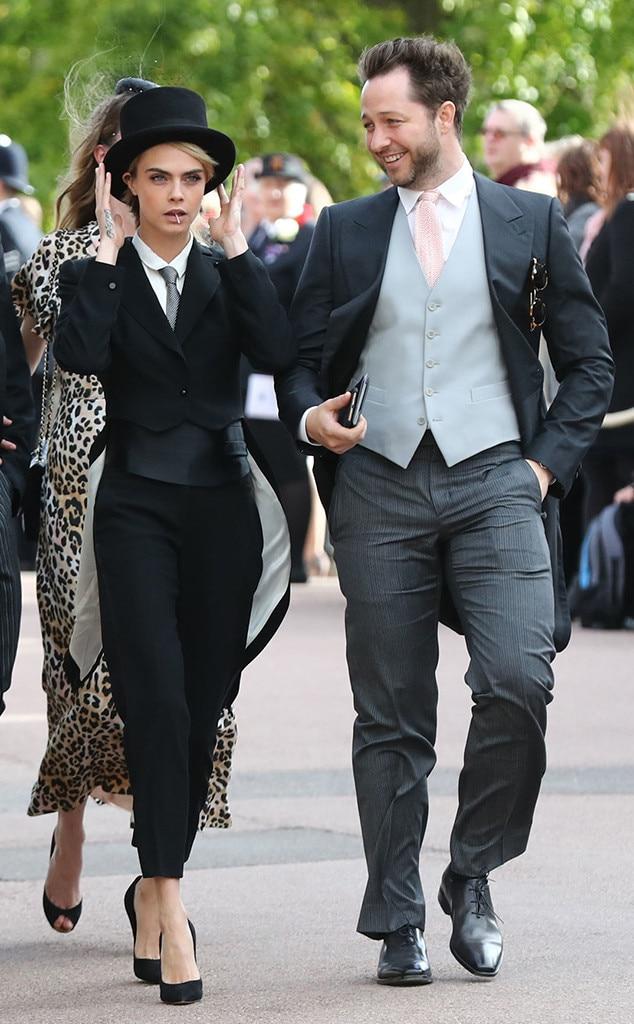 Cara Delevigne, Derek Blasberg, Princess Eugenie Royal Wedding