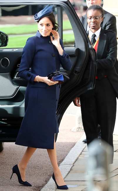 Meghan Markle, Princess Eugenie Royal Wedding