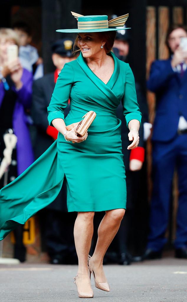 Sarah Ferguson, Princess Eugenie Royal Wedding
