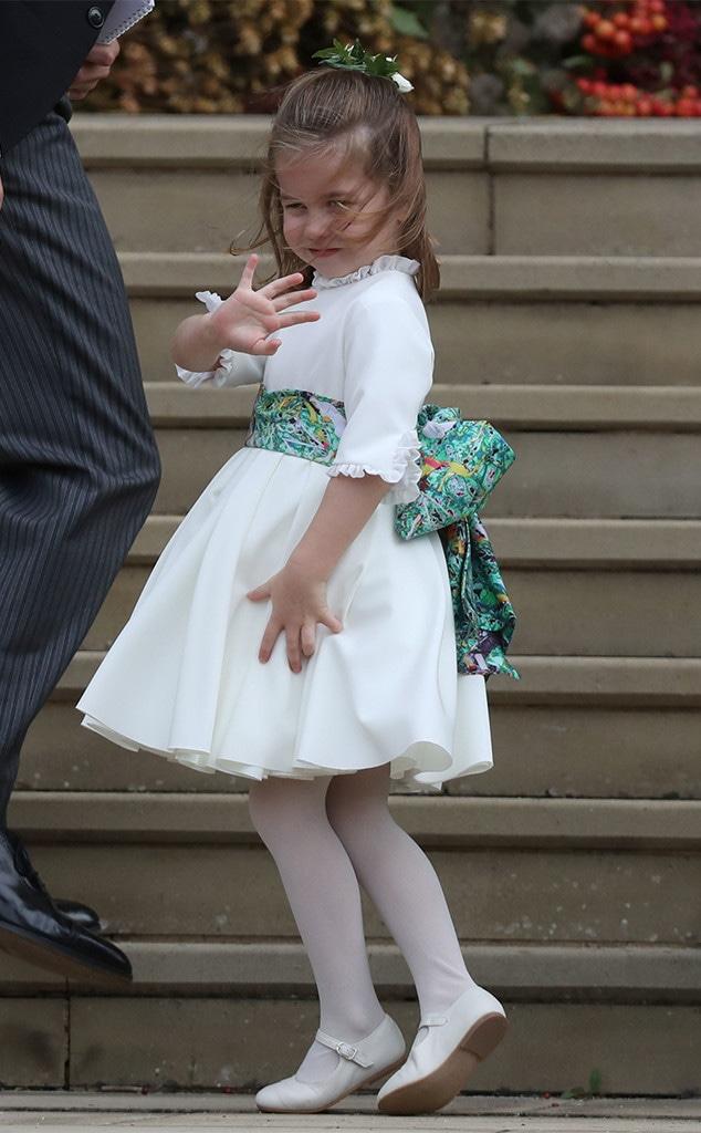 Princess Charlotte, Princess Eugenie Royal Wedding