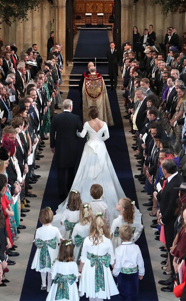 Princesa Eugenie Casamento Real, Cerimônia
