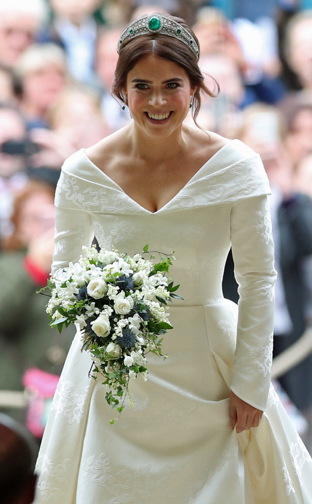 Princess Eugenie Wedding.Princess Eugenie Wears Emerald Tiara To Royal Wedding All The