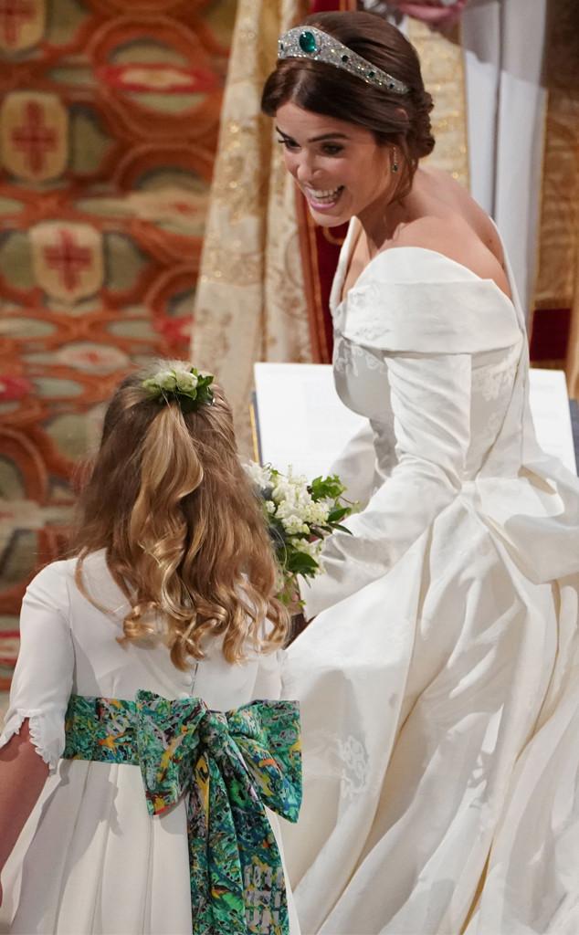 Princesa Eugenie, dama de honra, princesa Eugenie casamento real