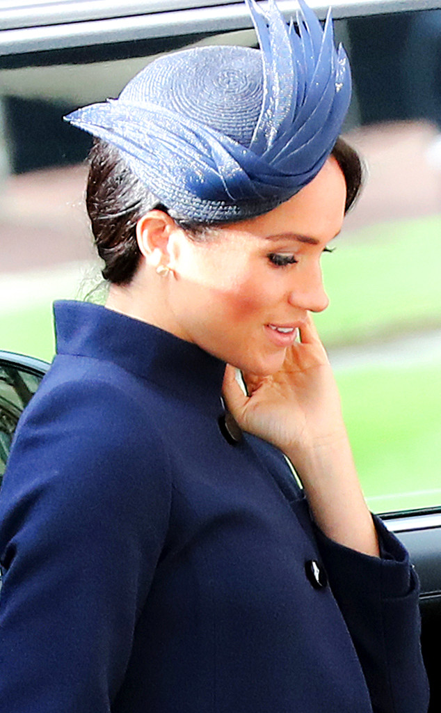 ESC: Meghan Markle, Duchess of Sussex, Princess Eugenie Royal Wedding, Hats