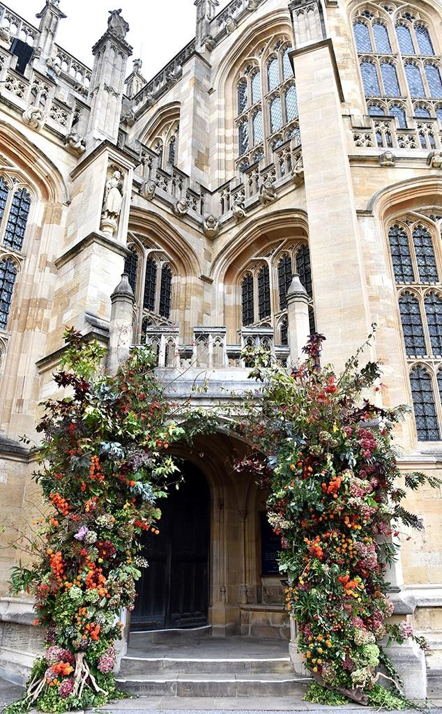 Flowers, Princess Eugenie Royal Wedding