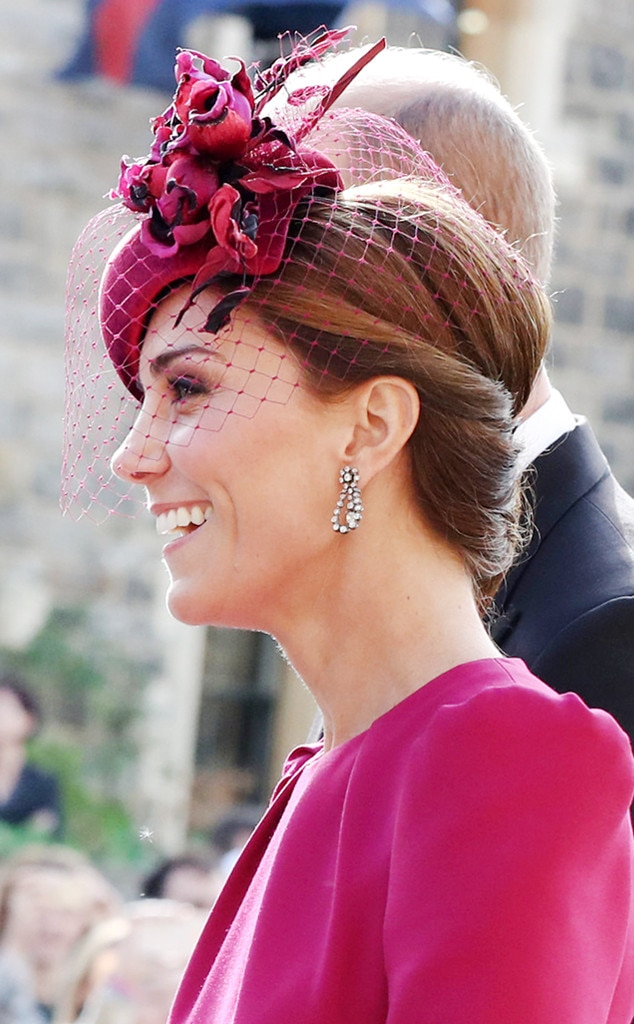 1  Kate Middleton s Fuchsia Fascinator from 15 Must-See Hats and ... 08f9fe392e8