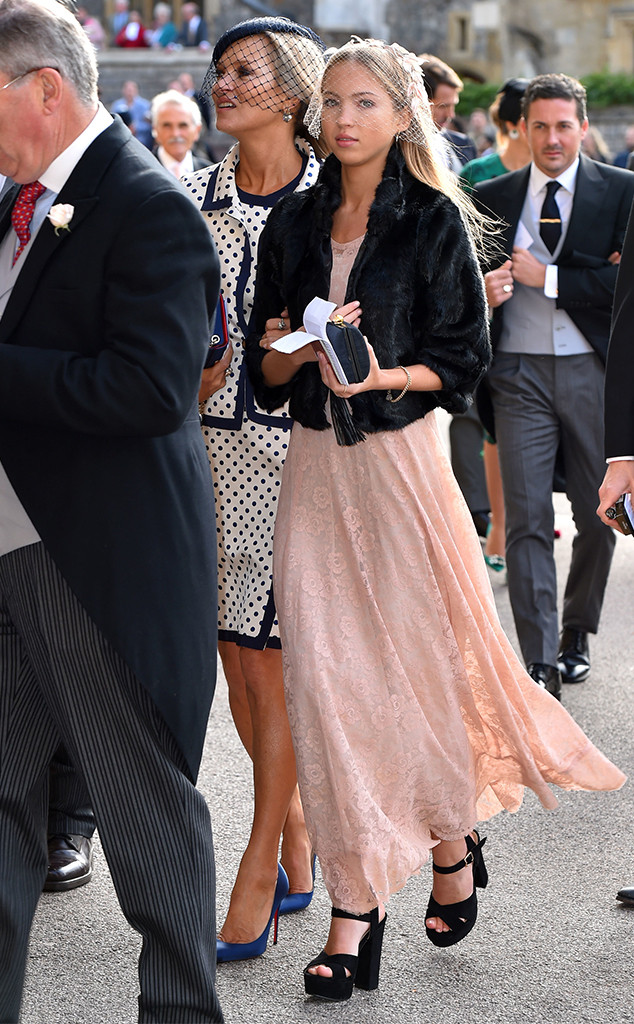 Kate Moss, Lila Grace Moss Hack, Princess Eugenie Royal Wedding