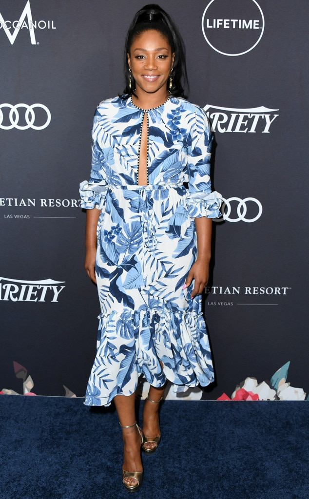 Tiffany Haddish -  The actress and honoree represents The Unusual Suspects Theatre Company, a youth performing arts group, at  Variety 's Power of Women: Los Angeles luncheon.