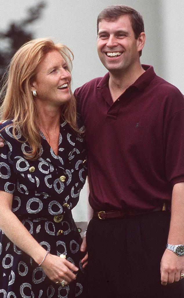 Duchess Sarah Ferguson, Prince Andrew, 1995
