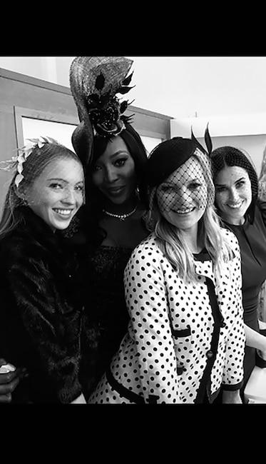 Princess Eugenie Wedding, Demi Moore, Naomi Campbell, Kate Moss