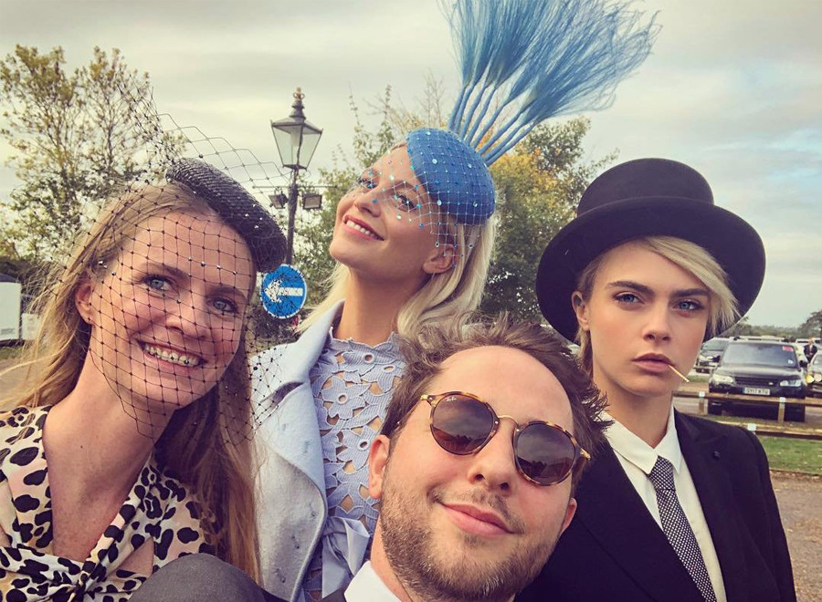 Cara Delevigne, Poppy Delevigne, Princess Eugenie Wedding