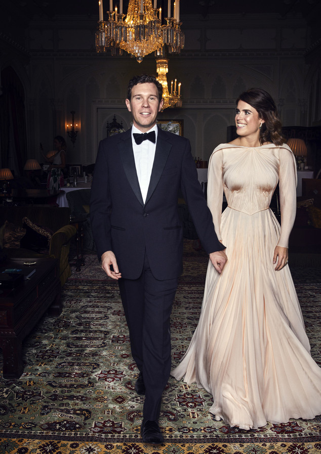 All The Details On Princess Eugenie S Royal Wedding Reception Dress