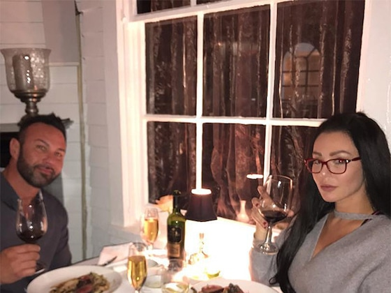 JWoww and Roger Mathews Go on Romantic 3-Year Anniversary Date After Divorce Filing