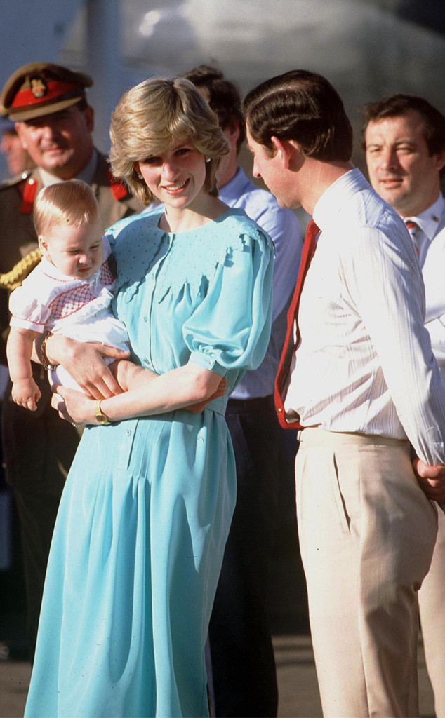 how royal trips changed forever once diana brought her baby onboard e online royal trips changed forever once diana