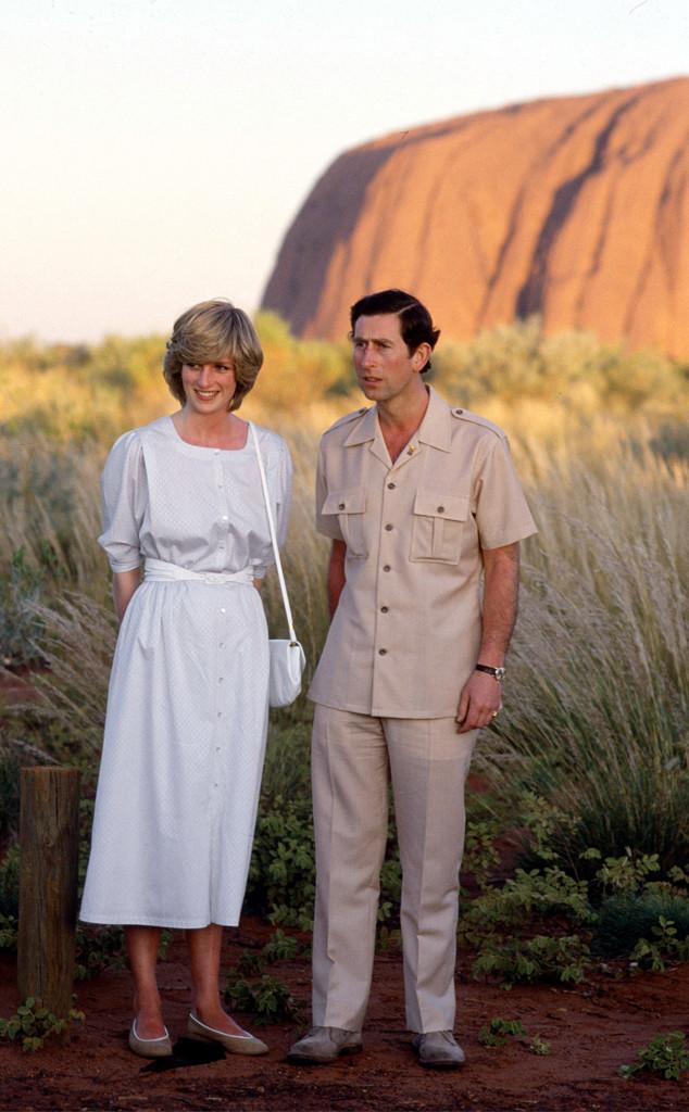Princess Diana, Prince Charles, Ayers Rock, Australia
