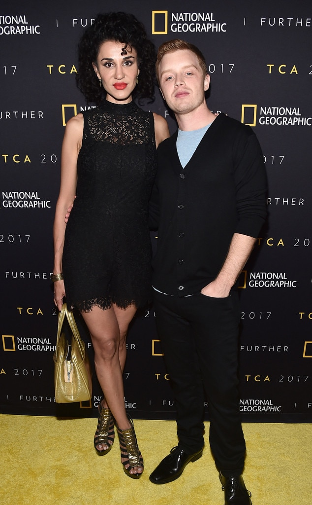 Noel Fisher (Mickey Milkovich) -  The actor, who played Ian's lover on the show, has been married to actress  Layla Alizada since 2017. The two starred together on the series Godiva's  more than a decade earlier.
