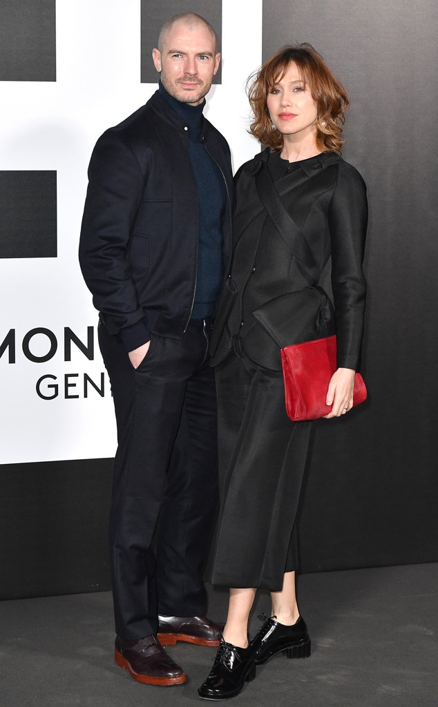 Richard Flood (Ford Kellogg) -  The Irish actor, who played Fiona's boyfriend, and Italian actress  Gabriella Pession have been married since 2006. They have one child, son  Giulo .