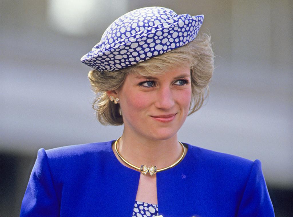 Princess Diana, Butterfly Earrings
