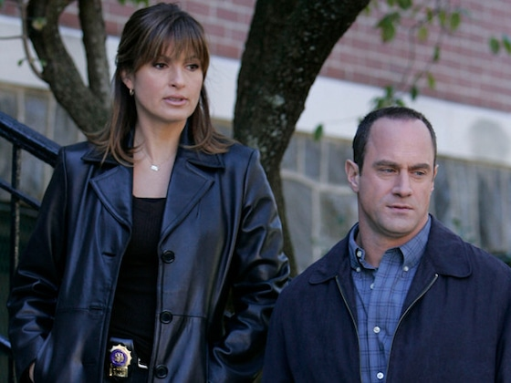 <I>Law and Order: SVU</i>'s Mariska Hargitay and Christopher Meloni Reunite Ahead of History-Making Season</I>