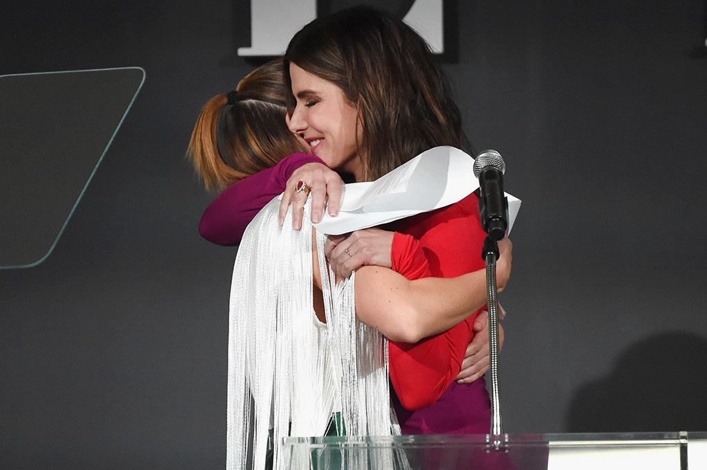 Sarah Paulson, Sandra Bullock, ELLE's 25th Annual Women In Hollywood