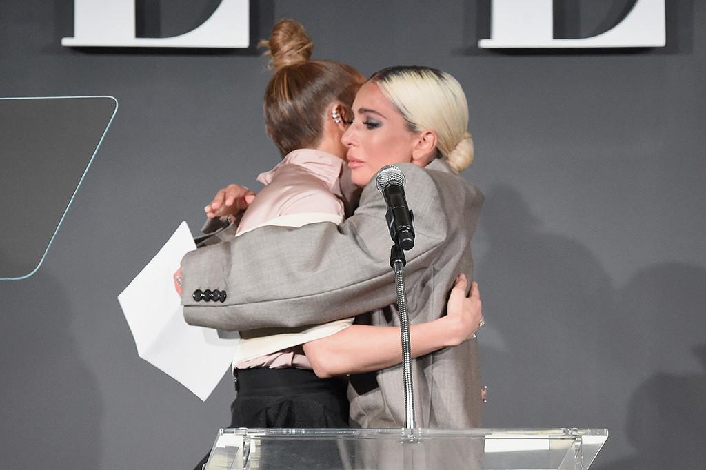 Jennifer Lopez, Lady Gaga, ELLE's 25th Annual Women In Hollywood