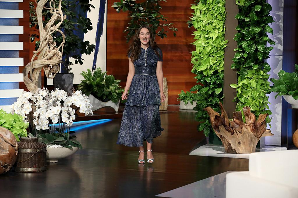 Keira Knightley, The Ellen DeGeneres Show