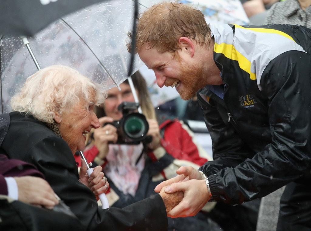 Prince Harry, Daphne Dunne, Sydney Visit 2017, Sydney Visit
