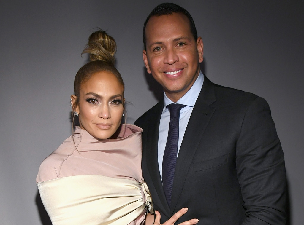 Jennifer Lopez, Alex Rodriguez, ELLEs 25th Annual Women In Hollywood