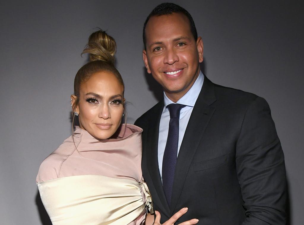 Jennifer Lopez, Alex Rodriguez, ELLEs 25th Annual Women In Hollywood