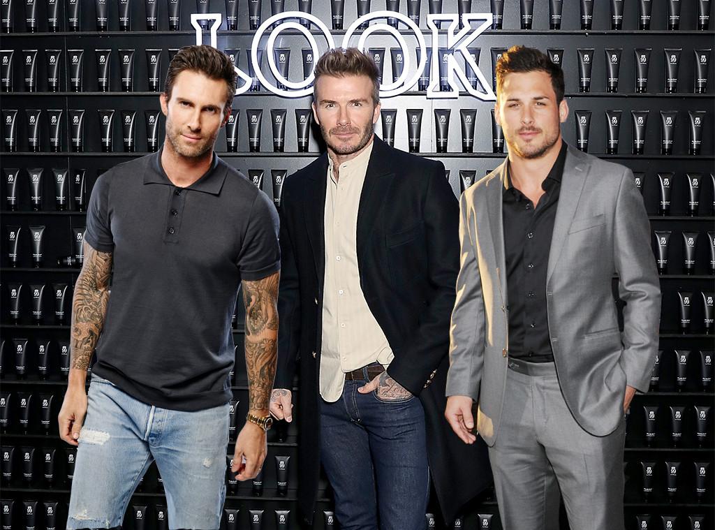 Adam Levine, David Beckham, Danny Amendola