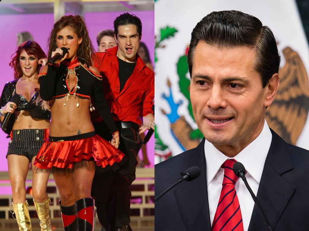 RBD, Enrique Pena Nieto