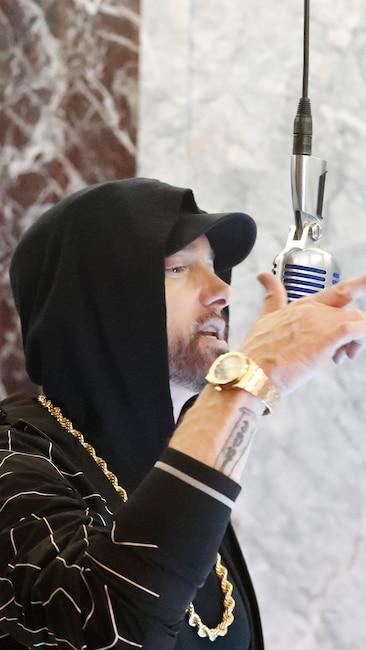 Eminem, Jimmy Kimmel Live, Empire State Building