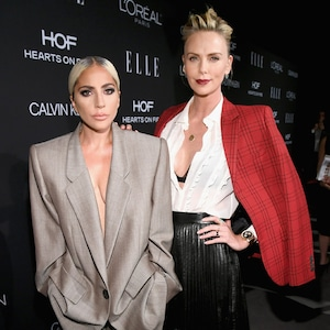 Lady Gaga, Charlize Theron, ELLE's 25th Annual Women In Hollywood