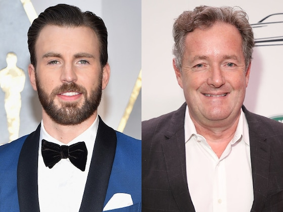 Chris Evans Slams Piers Morgan for Shaming Daniel Craig's Parenting Choices