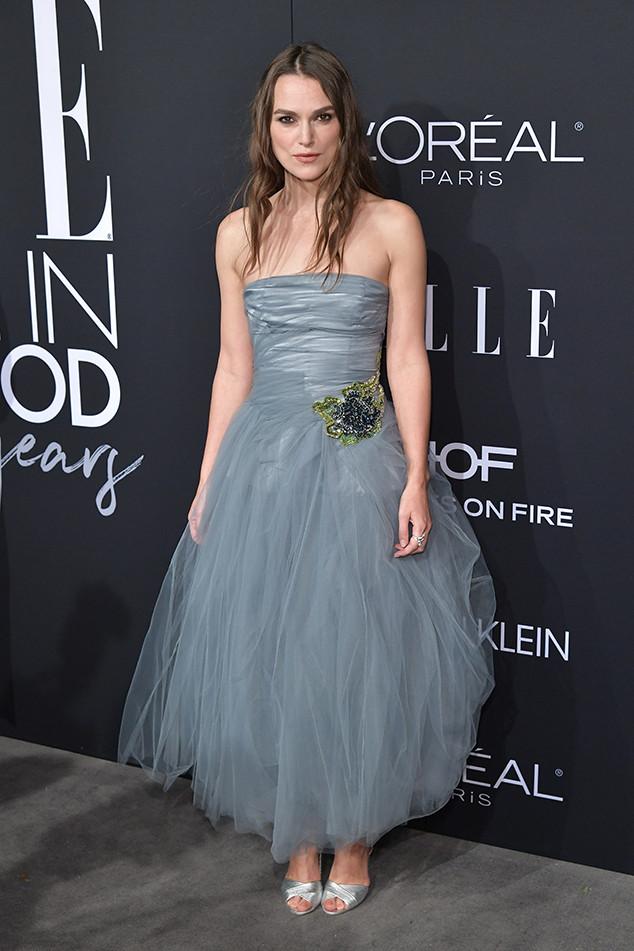 Keira Knightley, ELLE's 25th Annual Women In Hollywood