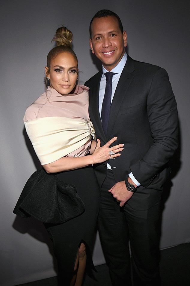 Jennifer Lopez, Alex Rodriguez, ELLE's 25th Annual Women In Hollywood