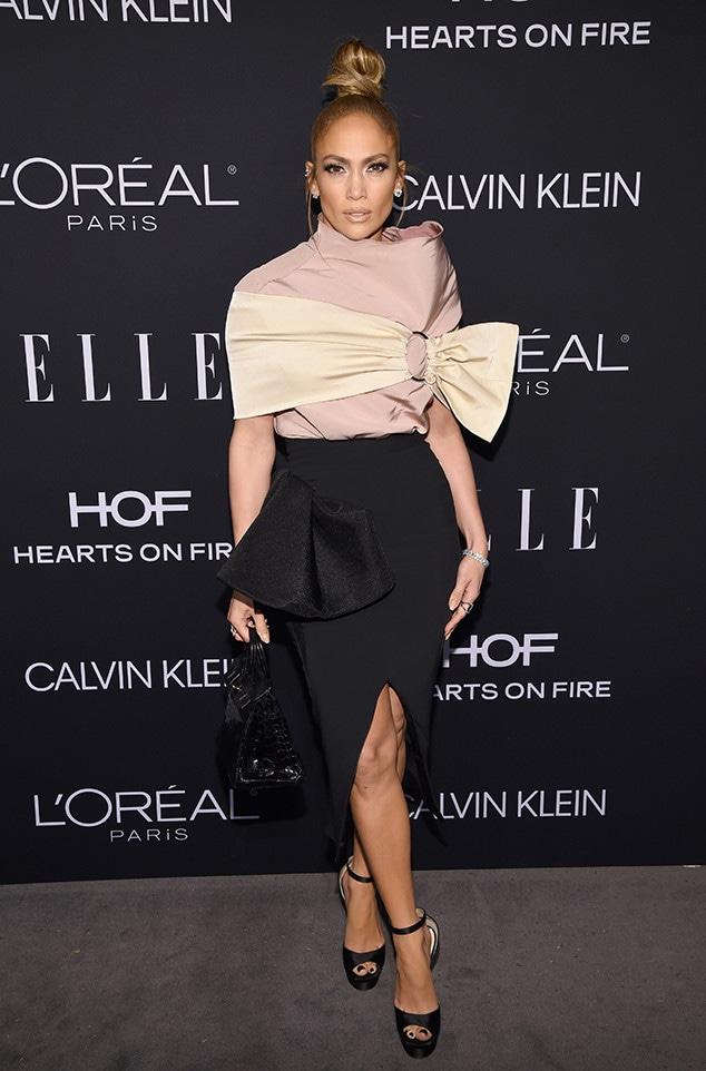 Jennifer Lopez, ELLE's 25th Annual Women In Hollywood