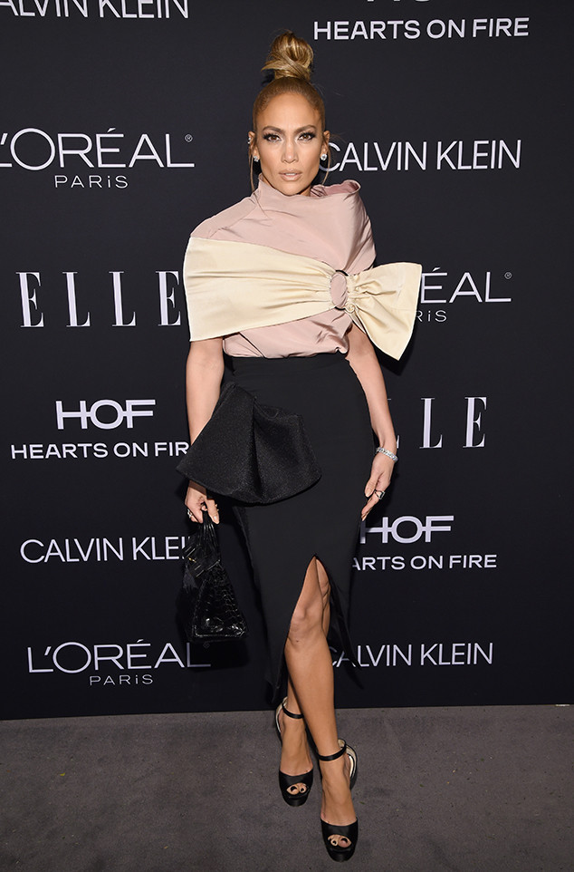 Jennifer Lopez, ELLE's 25th Annual Women In Hollywood