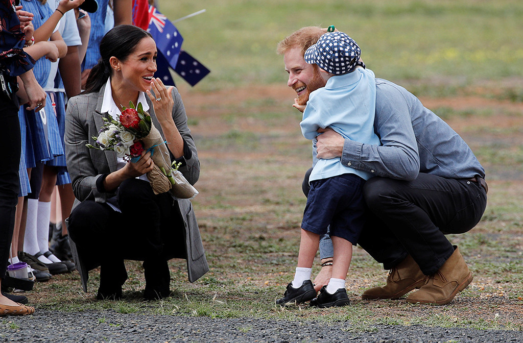 Prince Harry, Meghan Markle, Luke Vincent