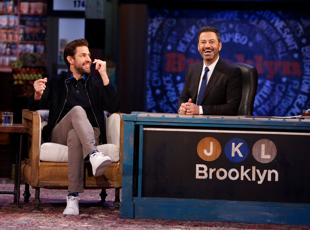 LOL! John Krasinski Pulls a Hilarious Prank on Jimmy Kimmel | E! News